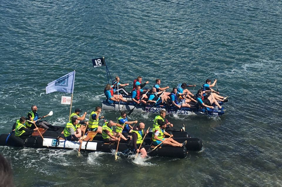 Experience The Great Strait Raft Run: Thrills, Fun & Spectacular North Wales Scenery