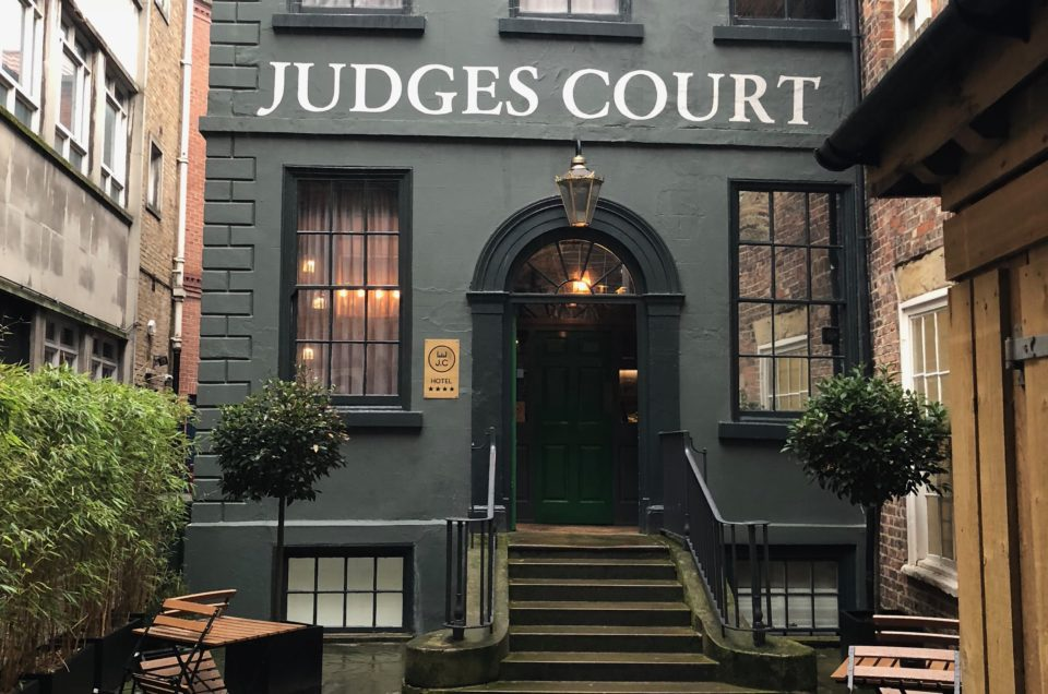 Pocket Review: Judges Court Hotel, York, England