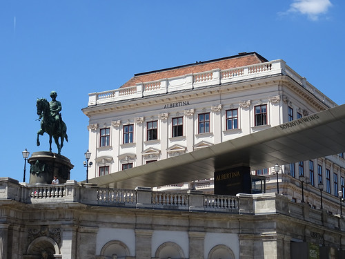 Vienna's Albertina Museum   Modern meets traditional art in a former palace