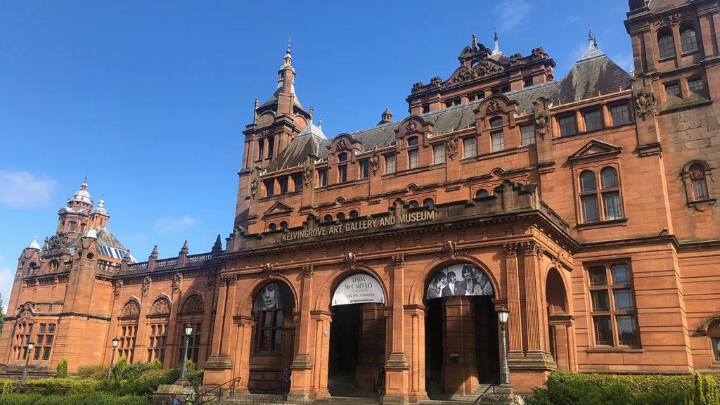 Glasgow in Lowlands Scotland